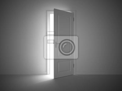 Porte entrouverte 1