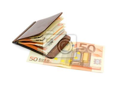 Naklejka Portfel z money2