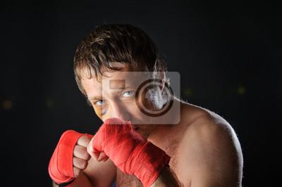 Portret Fighter.