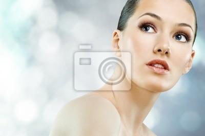 Portret piękno