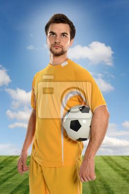 Portret Piłkarz