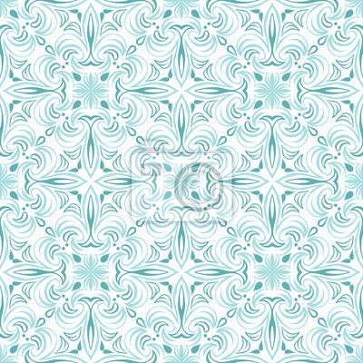 Portuguese azulejo ceramic tile pattern.