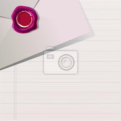 Post i list. Vector design.