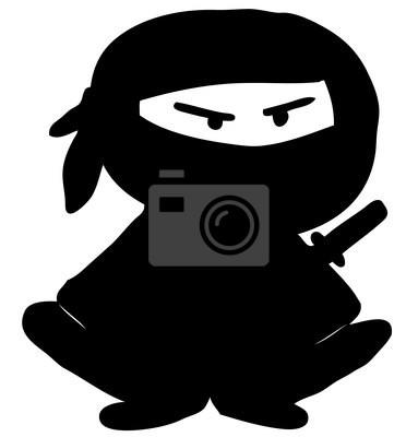 Postać z kreskówek Ninja