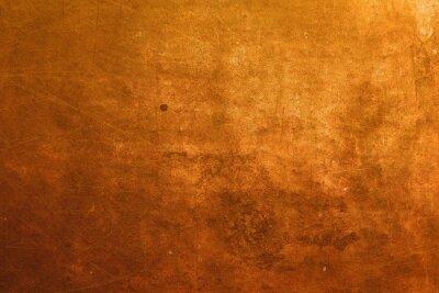 Naklejka powierzchni miedzi tle
