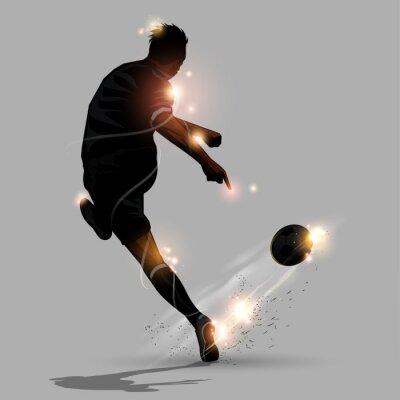 Prędkość abstrakcyjny Piłka strzelać