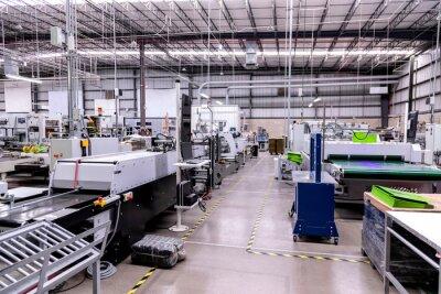 Naklejka Printing processes industry