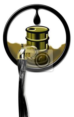 Produkcja ropy płynącej.