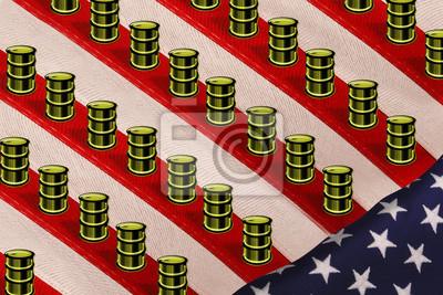 Produkcja ropy w Ameryce.