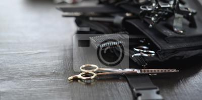 Naklejka Professional hairdresser's tool