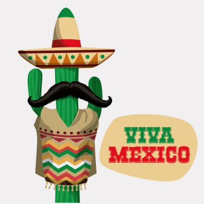 Naklejka Projekt Meksyk.
