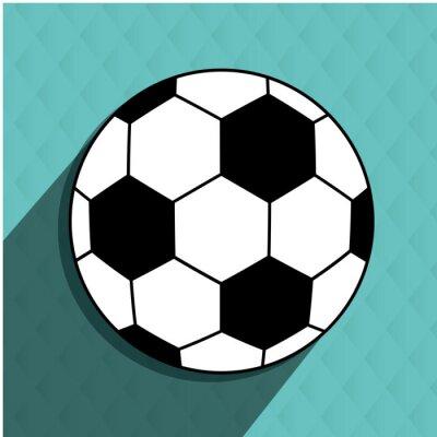 Naklejka projekt piłka nożna