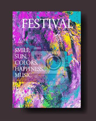 Projekt plakatu, zaproszenia, afisz, broszury, ulotki.