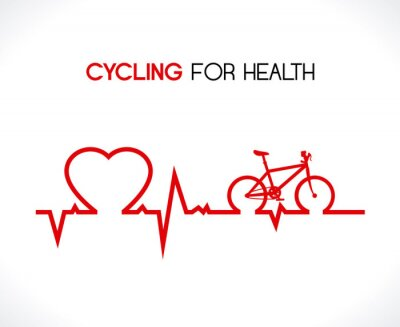 Naklejka Projekt rower