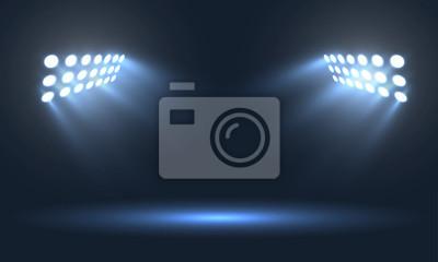Naklejka Projektory stadionów piłkarskich
