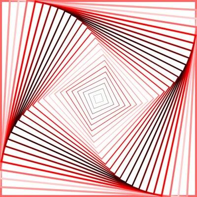 Naklejka Projektowanie kolorowe tło kręcić iluzję ruchu
