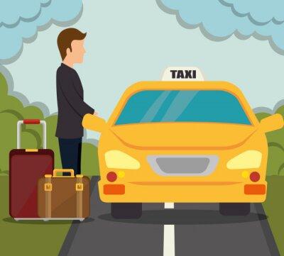 Naklejka projektowanie usług transportowych
