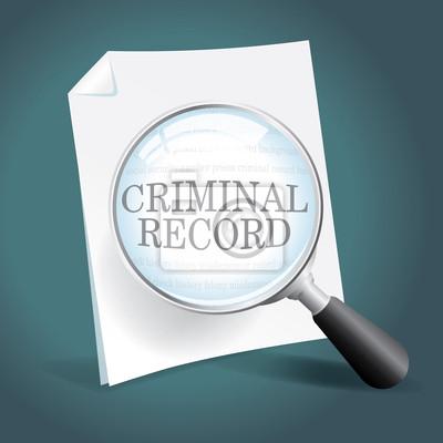 Przeglądanie rejestru karnego