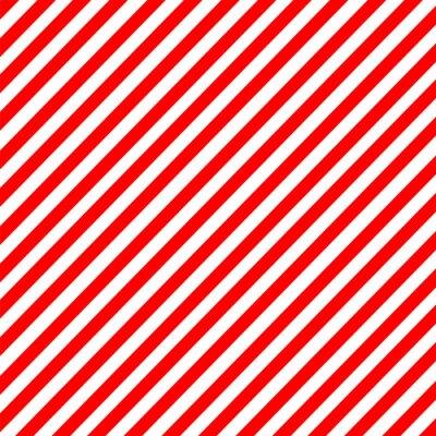 Naklejka Przekątna paskiem czerwono-biały wzór wektora