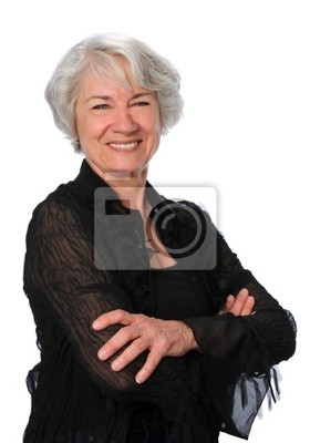Przekonany Senior Woman