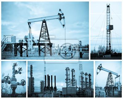 Przemysł naftowy.