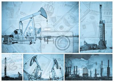 Przemysł naftowy i pieniądze.