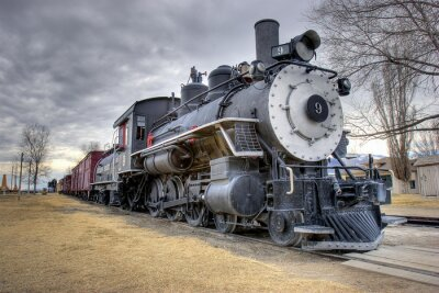 Naklejka Przepisy prawne pociąg