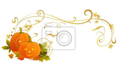 przewijania ramki Halloween