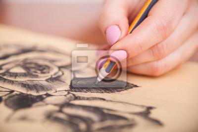 Naklejka Przeznaczone do walki radioelektronicznej rysunku na biurko