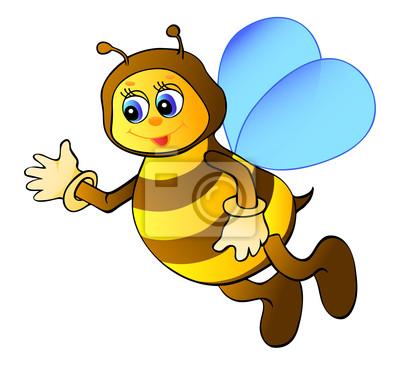 Pszczoła cartoon