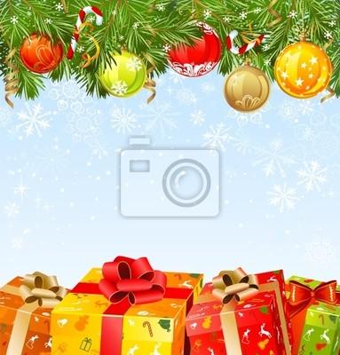 Pudełka świąteczne pod fir-drzewa