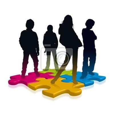 Puzzle nastolatków
