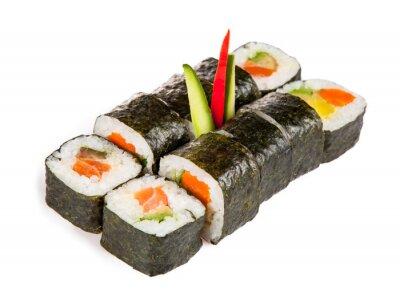 Naklejka Pyszne sushi sztuk