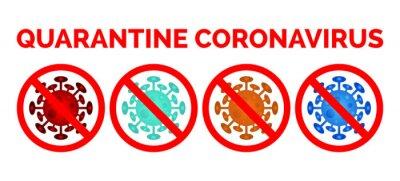 Quarantine coronavirus. stop coronavirus. stop covid-19