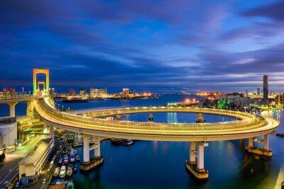 Naklejka Rainbow Bridge w Tokio