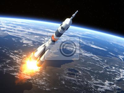 """Rakieta nośna """"Sojuz-FG"""" Uruchomienie"""