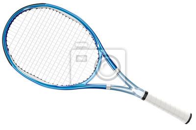 Naklejka Rakieta tenisowa Niebieski