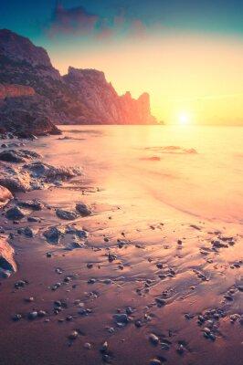 Naklejka Rano na morzu
