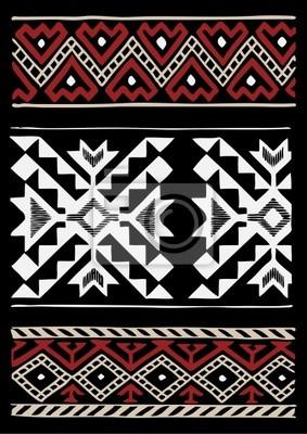 Rdzenni Amerykanie Projekt Tkanina