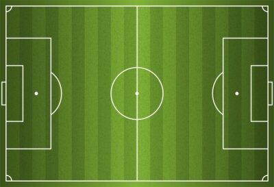 Realistyczne Football Vector - Soccer Field