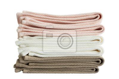Ręczniki. Odizolowany