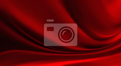 Naklejka red Silk background