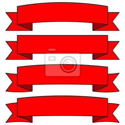 Regulowane Banery Ribbon