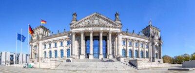 Naklejka Reichstag w Berlinie