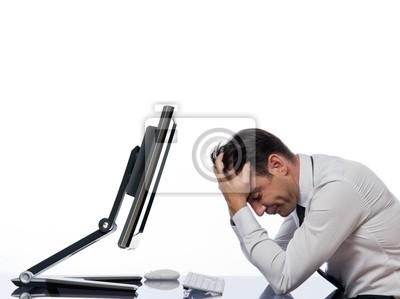 Relacja człowiek z pojęciem awarii komputera
