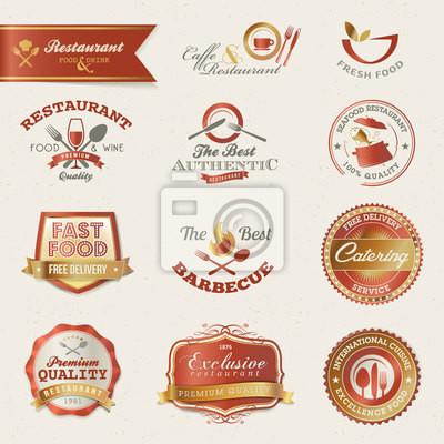 Restauracja i elementy etykiety