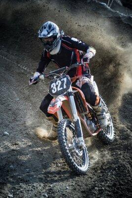 Naklejka rider in action