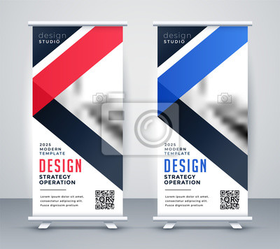 rollup banner presentation template set