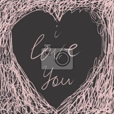 Romantyczna ilustracja