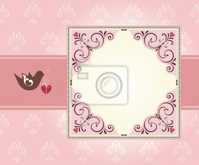 Romantyczna ramka